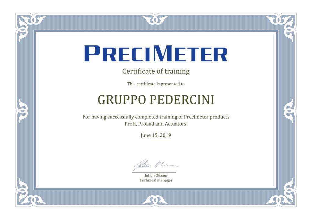 precimeter diploma